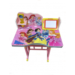 โต๊ะเขียนหนังสือเด็กลายเจ้าหญิง