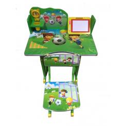 โต๊ะเขียนหนังสือเด็กลายการ์ตูนฟุตบอล