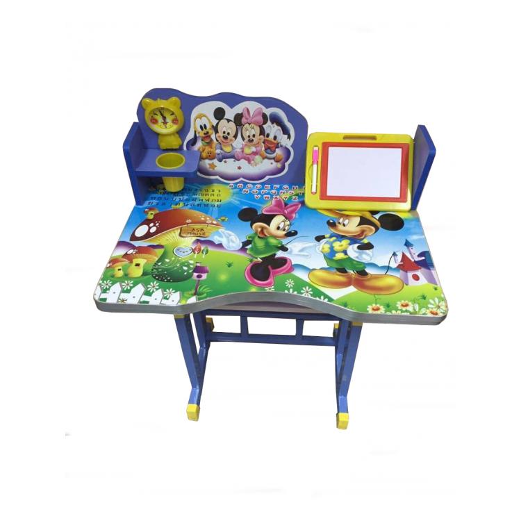 โต๊ะเขียนหนังสือเด็กลายการ์ตูน mickey mouse