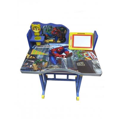 โต๊ะเขียนหนังสือเด็กลายการ์ตูนสไปเดอร์แมน