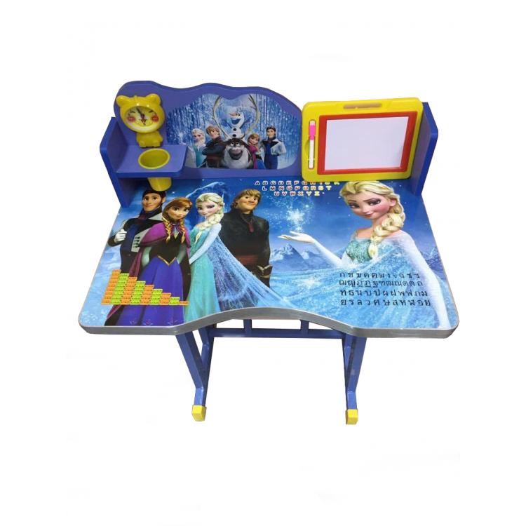 โต๊ะเขียนหนังสือเด็กลายการ์ตูนเอลซ่า
